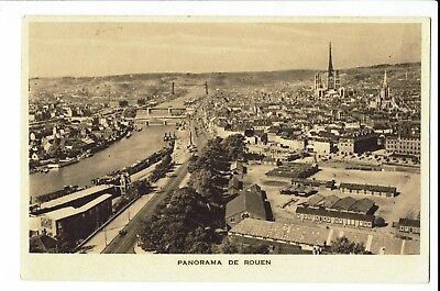 CPA-Carte postale  -FRANCE -Rouen - Son Panorama -S1547