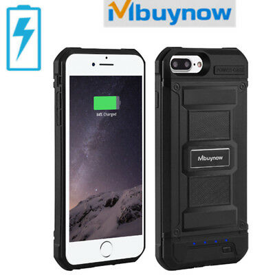 Shockproof External Slim Battery Charger Case Power Back For iPhone6/6s/7/8 plus