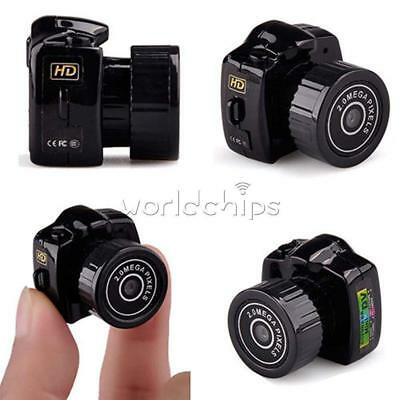 Smallest Hd Mini Hd Dvr Spy Camera Dv Digital Video Voice Webcam Recorder (S99)