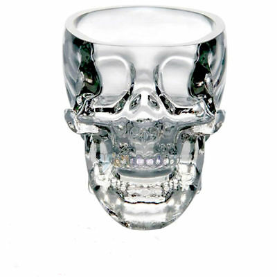 Genuine Crystal Head Vodka SKULL Shot Glass