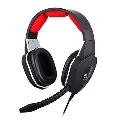 GuDenns XBOX 360/PS3/PS4/PC/MAC Wired Stereo Gaming Headset with Removable..