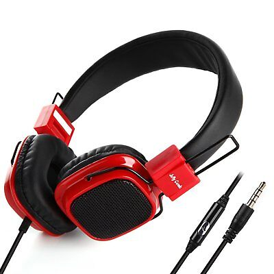 On Ear Headphones, Jelly Comb Wired Stereo Lightweight Foldable Headphones..