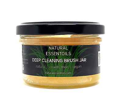 Natural Make Up Brush Cleaning Jar | Make Up Brush Cleaner | Cruelty Free Vegan