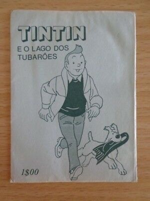 Very rare Tintin pouch package - Tintin and the Lake of Sharks