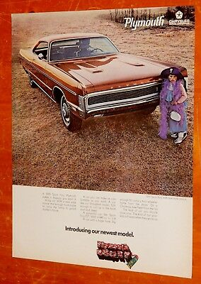Cool 1970 Plymouth Sport Fury Vintage Ad + Corvair 1960 1961 1962 1963 1964 Back