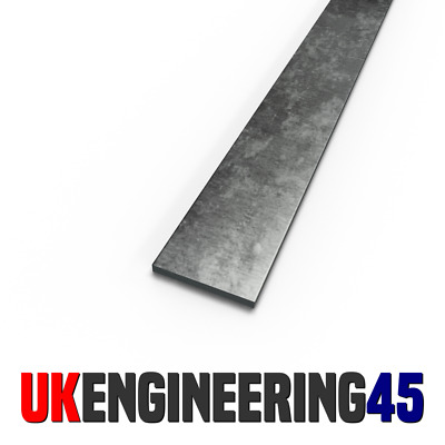 Steel Flat Bar | Quality Mild Steel | 10mm to 45mm | 1m (1000mm) to 3m (3000mm)