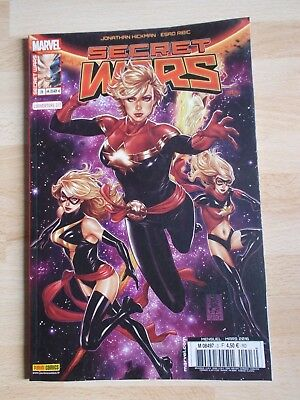 SECRET WARS 3 couverture 2/2 / MARVEL PANINI COMICS mars 2016 état neuf