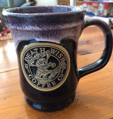 Death Wish Coffee Company 2016 Day of the Dead Mug - Sold Out - Deneen Pottery