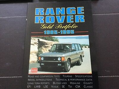 Range Rover classic road tests from 1985-1995