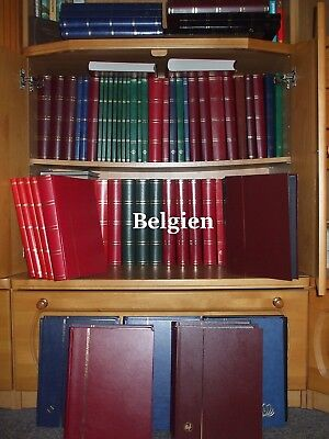 Belgien Sammlung - Europe Belgium Album Collection 1800 different stamps