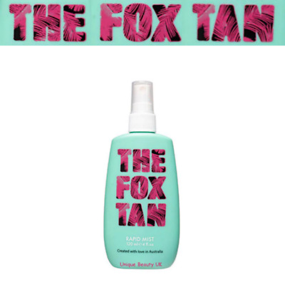 The Fox Tan Rapid Tanning Mist -Tanning Accelerator 1ST CLASS SAME DAY DISPATCH