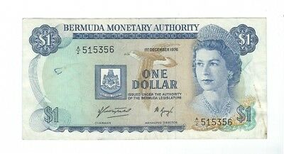 Bermuda - One (1) Dollar, 1976