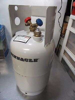 Refrigerant Manchester Reclaim Recovery Unit Cylinder New Old Stock 16.33 lbs.