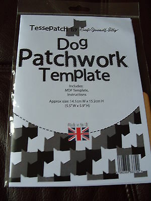 Tessepatch Dog Patchwork Template
