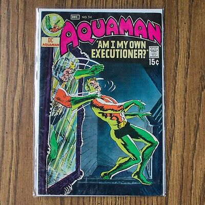 Aquaman #54 - High Grade (Dc, 1970) - Nick Cardy Cover