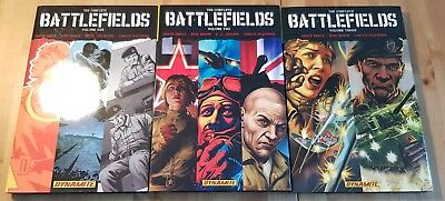 The Complete Battlefields Volume One Two Three Hardcover Edition Ennis 1 2 3