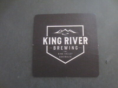 1 only KING RIVER BREWING micro brewery,Victoria,BEER Coaster