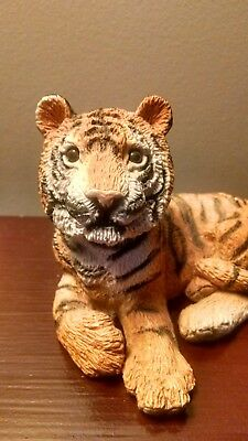Vintage 1987 Animal Classics Stone Critters Tiger SC-048 made by United Design