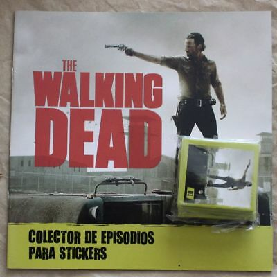 Argentina 2014 Album The Walking Dead + Full set of Stickers