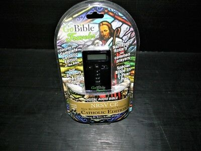 GOBIBLE TRAVELER DIGITAL Audio Bible New Revised Standard Version