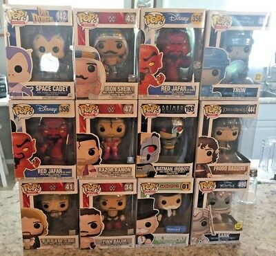 LOT of 12 FUNKO POP! New with pop protectors. Missing Mr. Monopoly