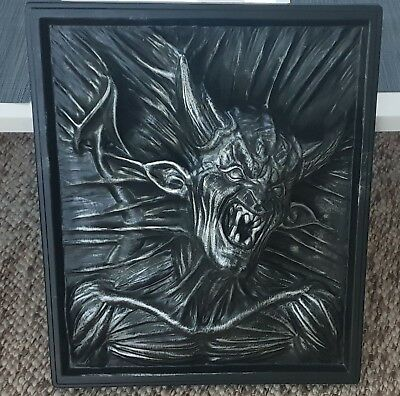 3D WALL ART - MetaPHYSIQUE BY ROBERT J.MARINO 1994 (Nightmare) Sehr selten!