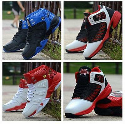 Fashion Men's Hip hop High-top Shoes Casual Basketball Sneakers Shoes 2 Style