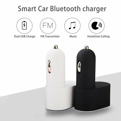 Smart In-Car Bluetooth MP3 Player FM Transmitter Music Adapter with USB Charger