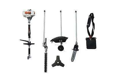 SUN SEEKER 26CC 2 Cycle 4 in 1 Multi Tool with Grass Trimmer Attachment, Hedge