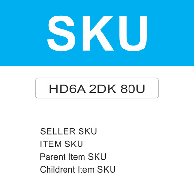 1000 SKU Code for Listing On Amazon Certified by GS1 EAN Code Number Barcode