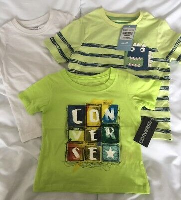 BNWT Tshirt Bundle 12-18M- Includes Converse (from Next)