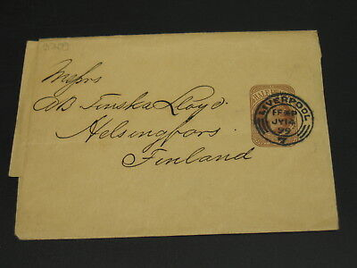 UK 1899 wrapper to Finland *3209