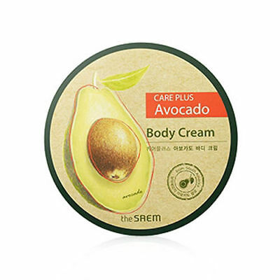 [The Saem] Care Plus Avocado Body Cream 300ml