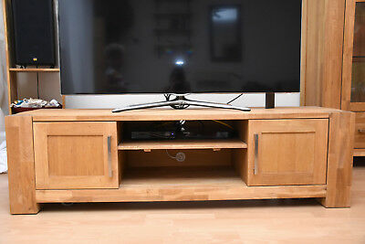 Danisches Bettenlager Eiche Holz Tv Board Regal Hi Fi Tisch Rack