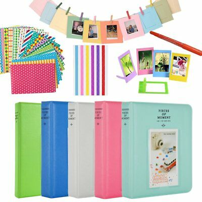 For Fujifilm Instax Mini 8 9 70 90 Camera Film Photo 64 Pockets Album Accessory