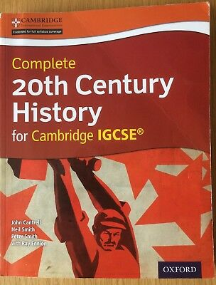 Cambridge International IGCSE Complete 20th Century History (with CD)