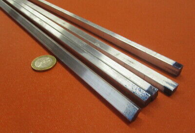 "6061 T651 Aluminum Bar, 1/4"" (.250"") Thick x 3/8"" Wide x 72"" Length, 5 pcs"