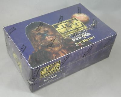 Star Wars CCG Japanese A new hope Decipher Booster Box 36 packs black border