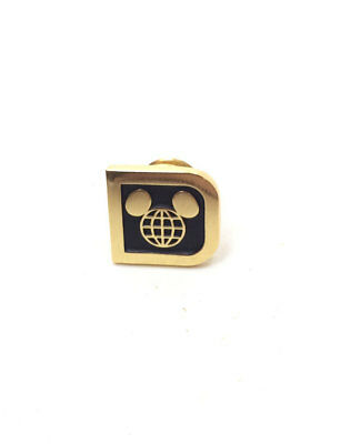 Rare Walt Disney World D Logo Management Manager Cast Lapel Pin Pinpics 64210