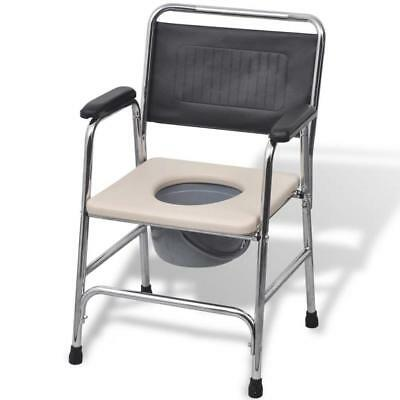 Elderly Limited Mobility Portable Toilet Potty Commode Shower Bedside Chair Seat