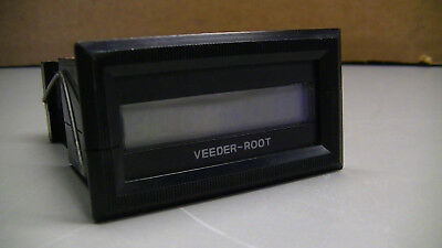 VEEDER-ROOT Electric Totalizing counter 7998 MINI LX 799808-322