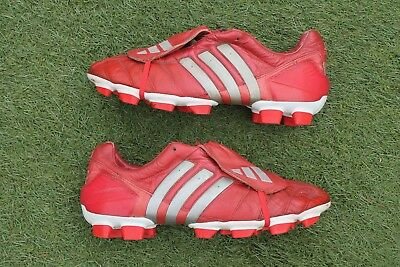 9425085bcdd ... ireland rare red adidas predator mania football boots uk size 10.5 firm  ground fg 01582 eafd5 ...
