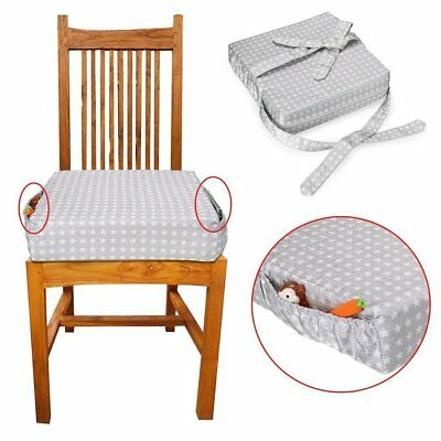 3QMart Chair Increasing Cushion Baby Kids Dismountable Highchair Booster Cushion