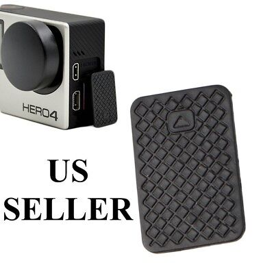Black Replacement USB Side Door Cover Case Cap Part For GoPro HD Hero 3 3+ 4