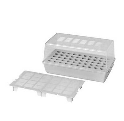 IKEA VÄXER (Vaxer) Grey Nursery & Sprout Box with Lid (For Indoor Gardening)
