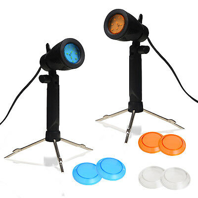 Photography Continuous 12 LED Lamp Table Top Studio Light Portable Lighting Kit