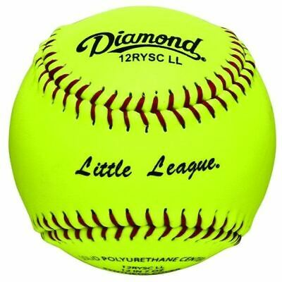 "Diamond 12RYSCLL 12"" Little League Synthetic Cover Softball"