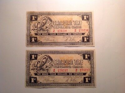 1962 1c CTC-4-A-Z  Consecutive Note  Free Combine Shipping a79