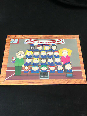 """South Park-Ltd.ed.promo Instore Counter Display New Ex 7"""" X 10 1/2"""" 2 Sided"""