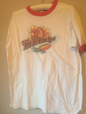 vintage Southwest Airlines 1981T-Shirt large 10 years of love anniversary